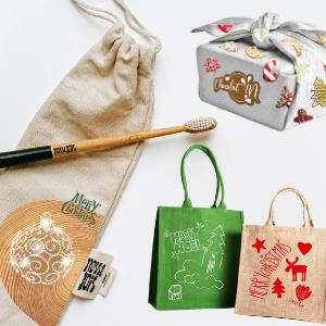 Les fêtes de fin d'année ? Des supports textiles responsables et créatifs pour mieux communiquer