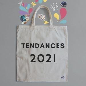 Zoom sur les tendances supports communication textile 2021 !
